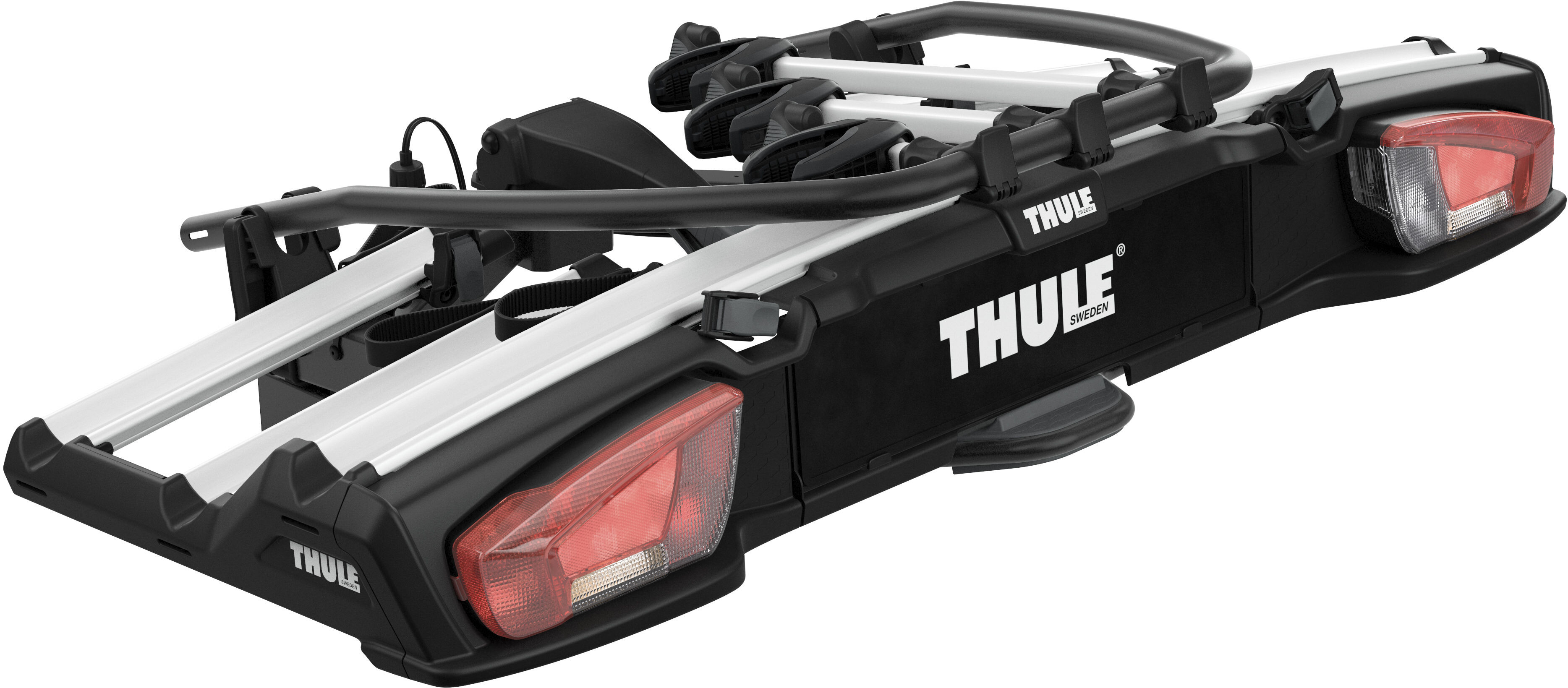 thule velospace xt fahrradtr ger f r 3 fahrr der g nstig. Black Bedroom Furniture Sets. Home Design Ideas